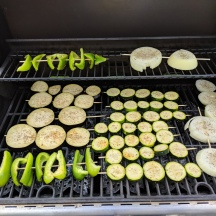 Grilled Veggies Yum!
